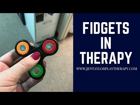 Fidget Spinners In Therapy
