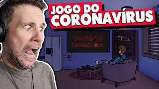 CORONAVÍRUS SIMULATOR | COVID-19 ISOLATION (Gameplay em Português PT-BR) #covid19_isolation