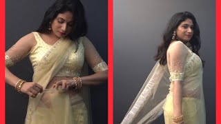New saree blouse design & drap…