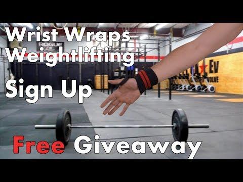 Wrist wraps weightlifting Giveaway! WinWristWraps.info