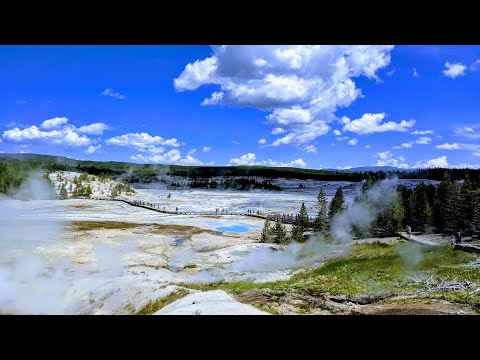 Norris Geyser Basin - Complete Walking Trail