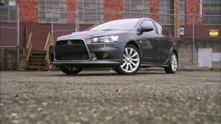 Mitsubishi Lancer Ralliart Sportback HD Video Review