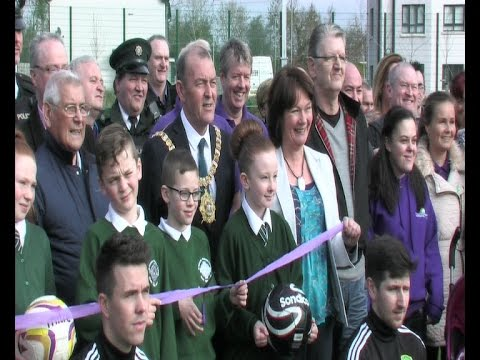 Belfast Mayor opens £1.1million sports zone in Poleglass