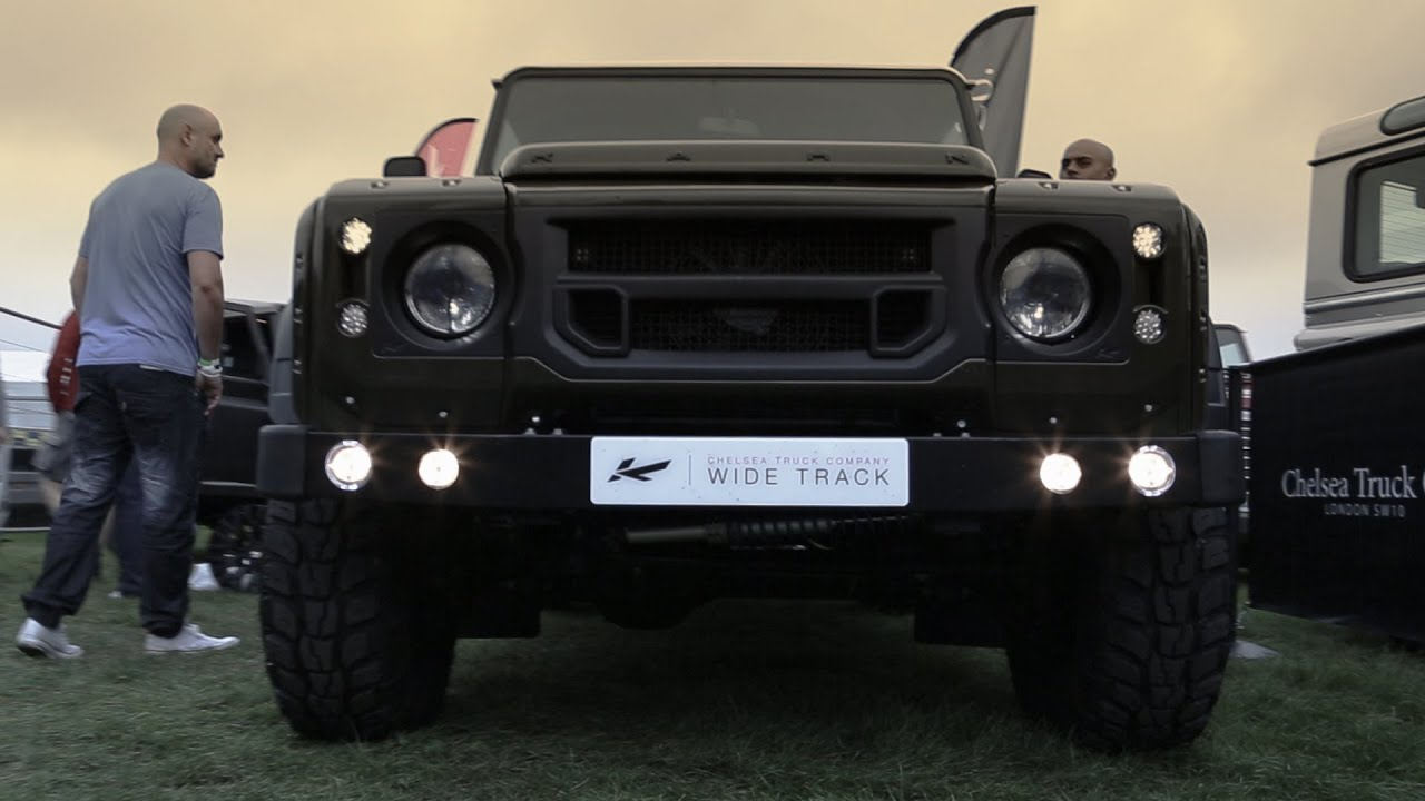 Kahn TV Kahn Design at the Land Rover Owners Show 2014