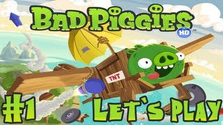 Let`s Play Bad Piggies #1