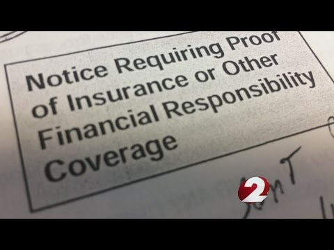 Are proof of car insurance letters random?