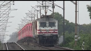 Absolute Ripper 12010 Shatabdi Express With Vodafone Livery And Amul Wap5 Engine [Indian Railways]