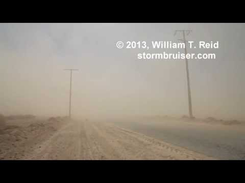 Antelope Valley Dust Storm -- April 8, 2013