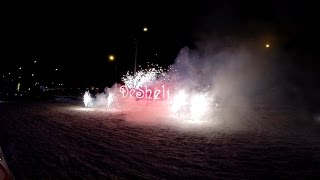 Компания Desheli Фейерверк в честь празднования Нового года 2015