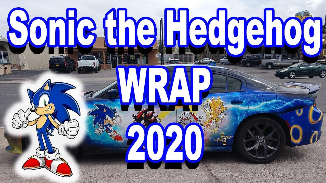 Sonic The Hedgehog Car Wrap 2020 Adventure Enterprises Las Cruces Nm Youtube