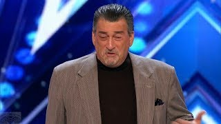 America's Got Talent 2017 Another Terrible Impersonator Full Audition S12E04