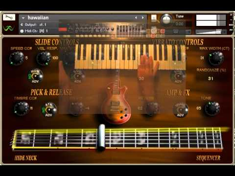 glide ii preview hawaiian lap steel style youtube. Black Bedroom Furniture Sets. Home Design Ideas