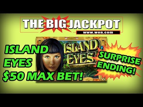 👀 Island Eyes Bonus Round $50 Max Bet💣 surprise ending 🤔