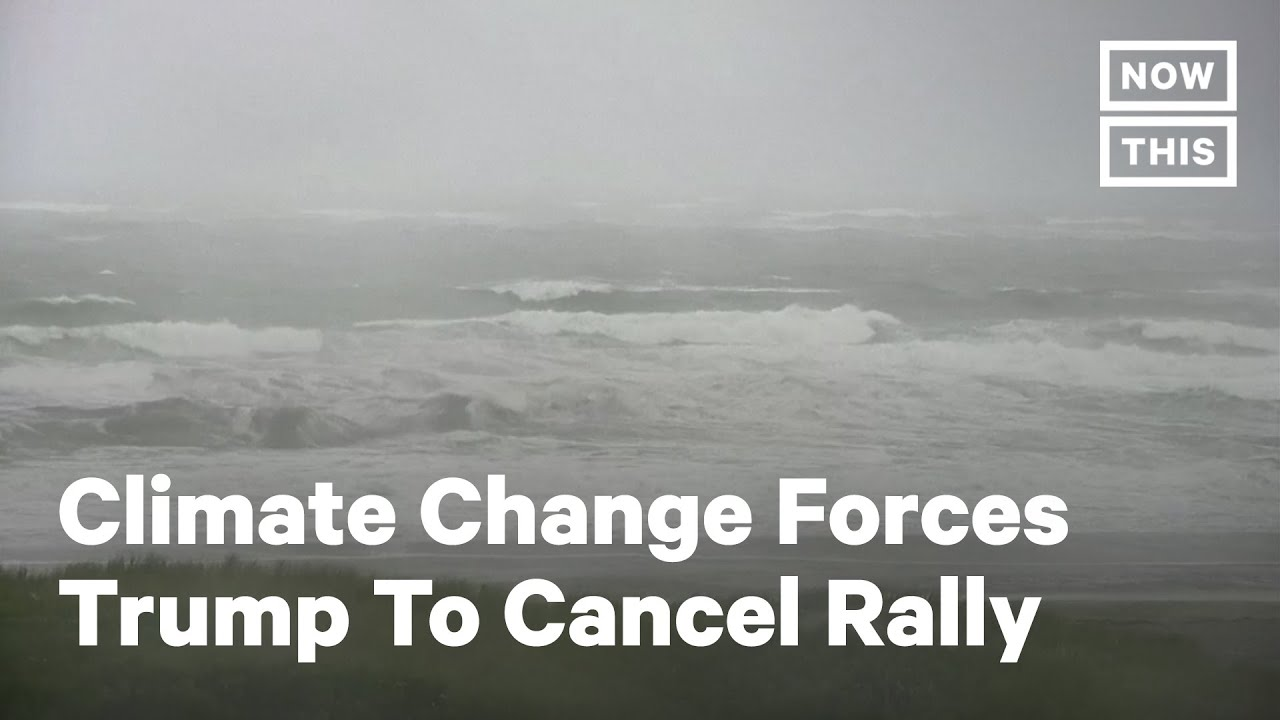 Download Trump Cancels Rally Over Fear Of Tropical Storm Fay | NowThis