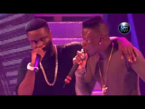 Stonebwoy 'murder' Sarkodie in freestyle at Tigo Ghana meet Naija
