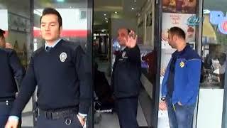 Levent'te kafeye saldırı anı kamerada
