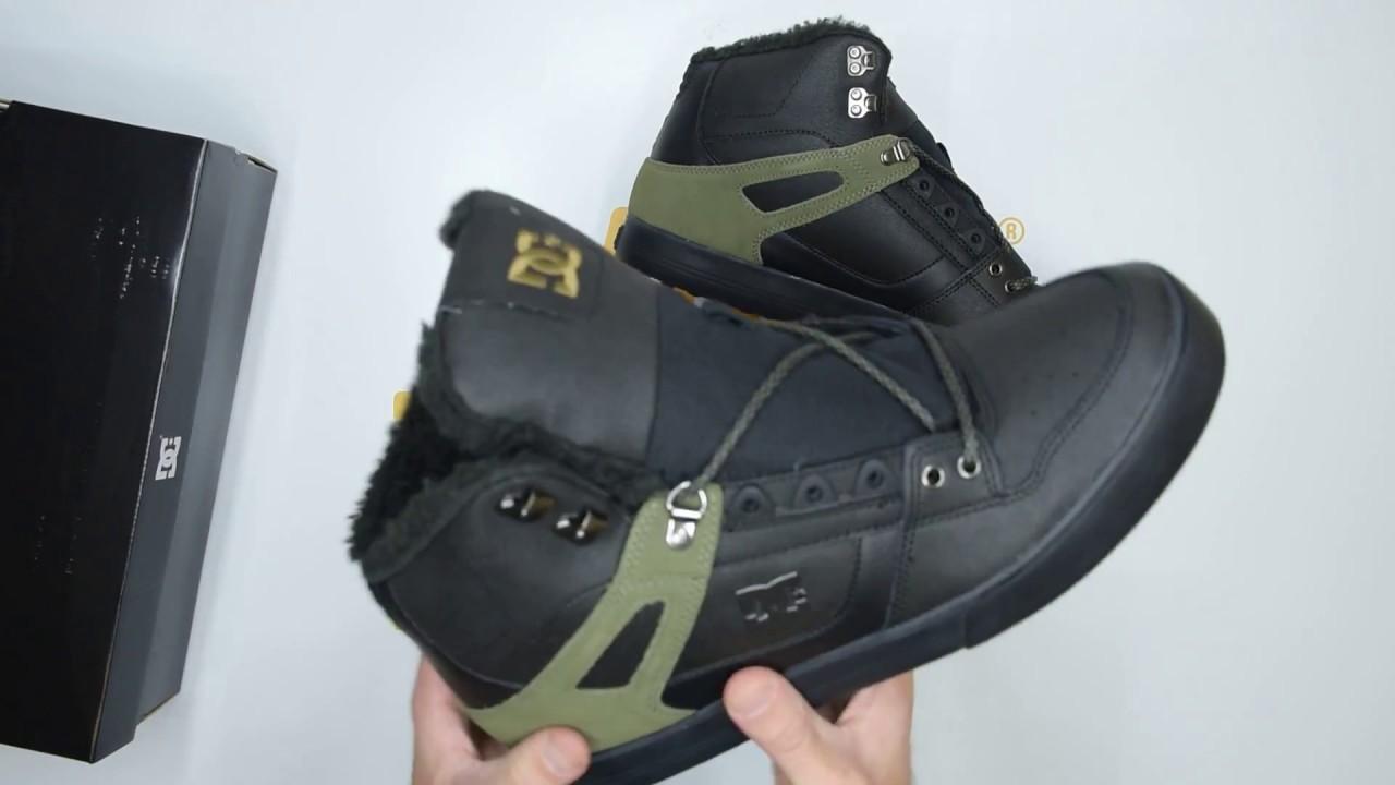 DC Shoes Spartan High WC WNT - Black