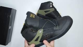 e919d1ac007172 DC Shoes Spartan High WC WNT - Black Olive - Unboxing