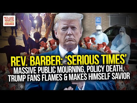 'Serious Times': Massive Public Mourning, Policy Death, Trump Fans Flames & Makes Himself Savior