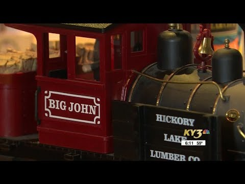 Despite cancer battle, man fights to preserve children's train display