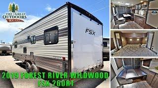 2019 FOREST RIVER WILDWOOD FSX 260RT Toy Hauler RV Travel Trailer Colorado