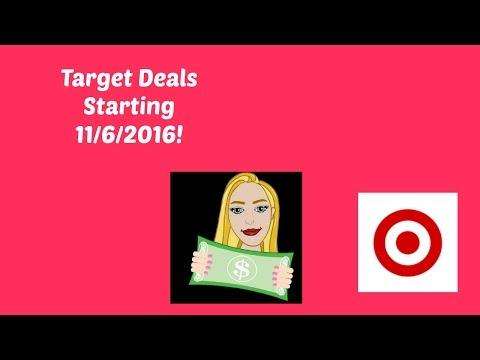 Target Deals Starting 11/6/2016