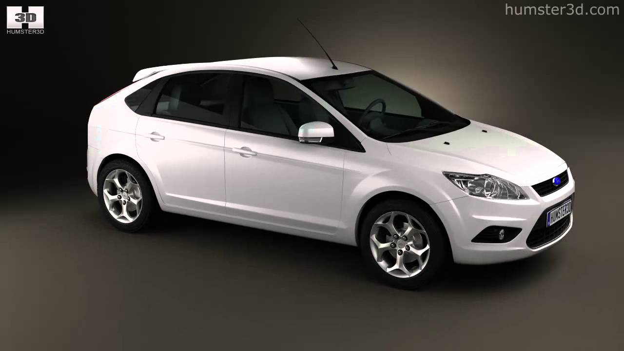 Ford focus hatchback 5 door 2009 by 3d model store humster3d com youtube