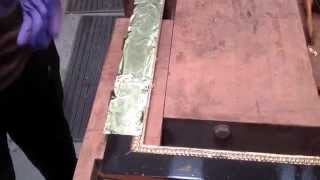 Золочение 1,2 $/лист своими руками сусальное золото 24 карата самостоятельно дома(Наш сайт http://www.decora.prom.ua тел. +380503308709 и +380965400006. Предлагаем сусальное золото 93х93 мм, содержание 98,8 %. Купить..., 2015-07-12T15:00:50.000Z)