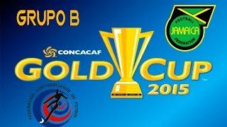 Costa Rica vs Jamaica | simulacion | Grupo B | Copa Oro 2015