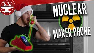 DIY Nuclear Phone! (MAKER SECRET SANTA!)