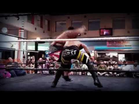 American Sumo Mike Gamble vs DL Hurst