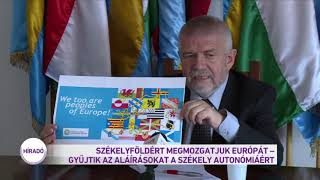 Székelyföldért megmozgatjuk Európát - gyűjtik az aláírásokat a székely autonómiáért