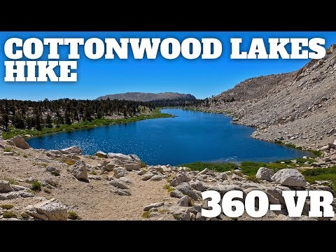 Cottonwood Lakes Hike 360° VR Video