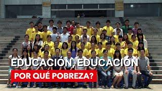 WHY POVERTY? Educacion, Educacion (Spanish subtitles)