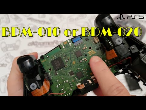 How to tell which version Dualsense BDM-010 or BDM-020 you have