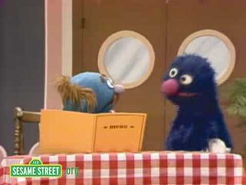 Sesame Street: Grover Is All Out Of Food