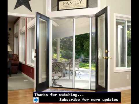 Screen Door For French Doors Screen Door Design Ideas Youtube