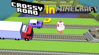 Crossy Road in Minecraft - How to make a minigame: Crossy Road