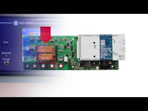 EEZ PSU H24005 channels coupling
