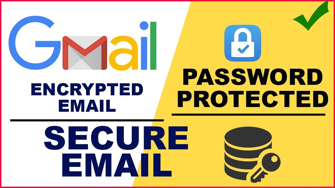How to Send Password Protected , Encrypted email in Gmail | Secure Email in  Gmail