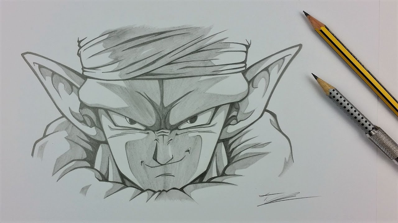 Drawing piccolo with just 2 pencils tolgart