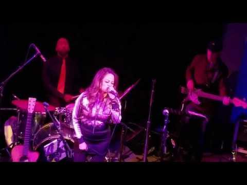 Lara Price Blues Revue at Club Fox -- Game of Love/Crazy (medley)