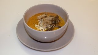 Pumpkin soup puree (Суп пюре из тыквы)