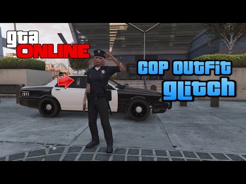 (!PATCHED!) COP OUTFIT GLITCH ! | Gta Online | 1.36 | [Deutsch]