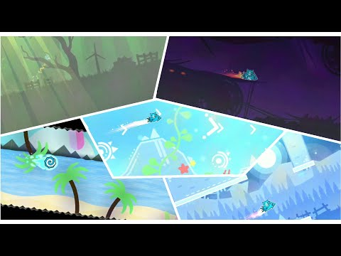 Nature Travel Full Preview [Noclip] By SirMeziChek And More - Geometry Dash