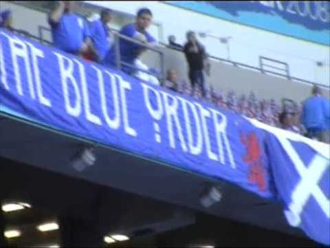 UEFA Cup Final - Rangers Vs Zenit - Pre-match Flags And Banners