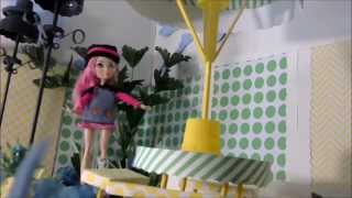 Ever After High :how To Make A Doll Picnic Table  - Doll Crafts