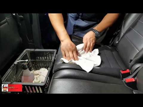 C mo aplicar acondicionador y limpiar asientos de cuero for Como limpiar asientos de cuero