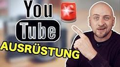 ✅ Youtube Ausrüstung für Anfänger