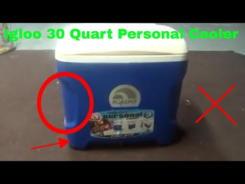 ✅  How To Use Igloo 30 Quart Personal Cooler Review